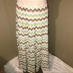 Lapis Women's Maxi Skirt SZ M